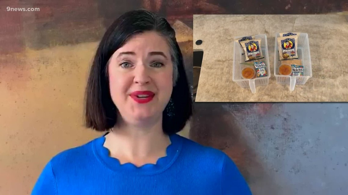 Organizing guru has tips on cleaning out the pantry