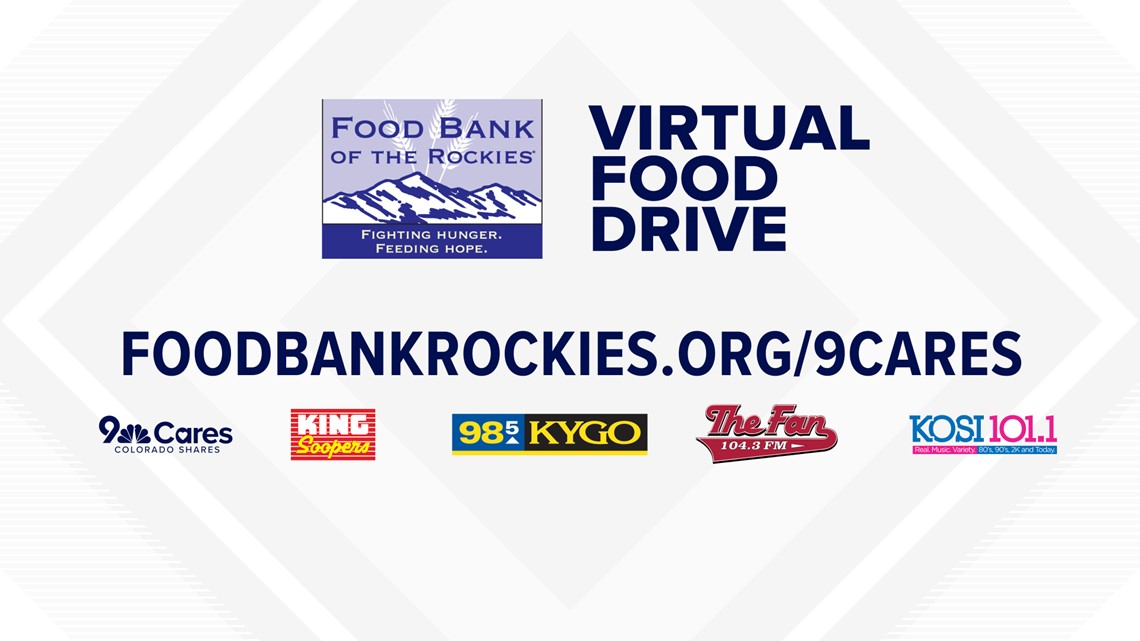 9NEWS, Bonneville, King Soopers team up for 9Cares Virtual Food Drive