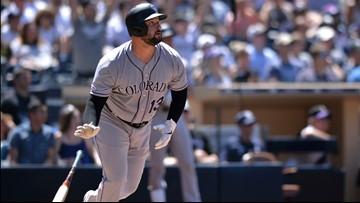 Rockies avoid winless road trip, earn 8-3 victory against Padres