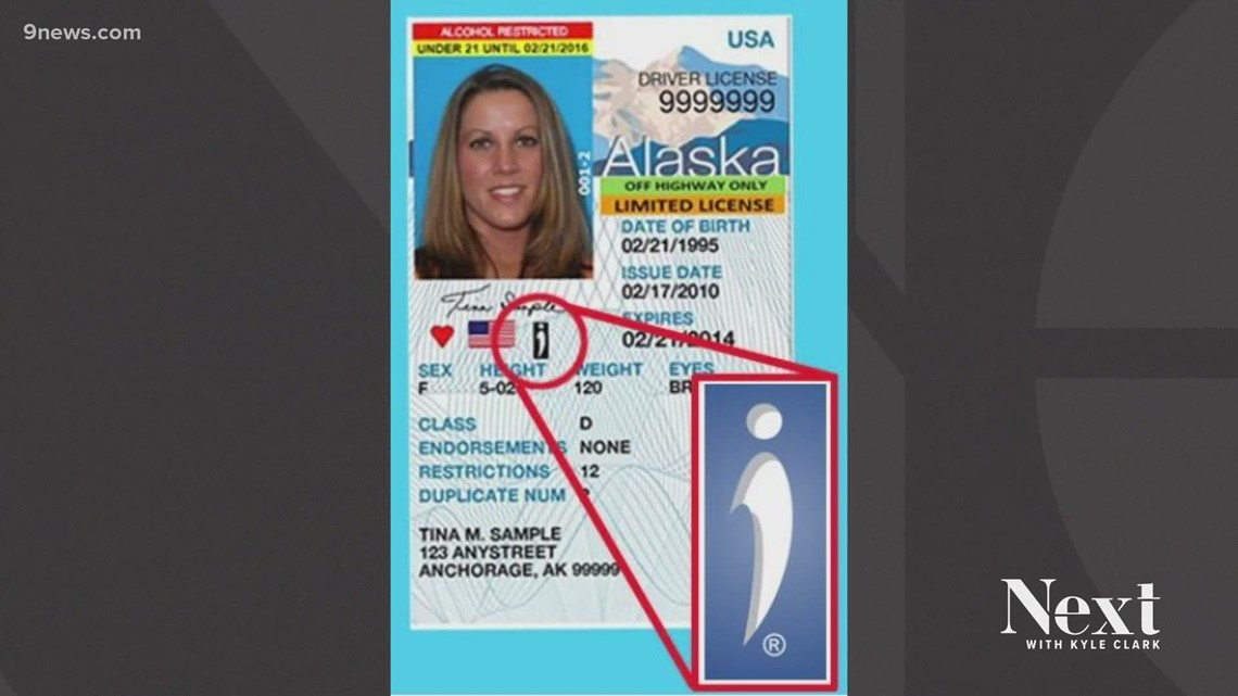 Colorado lawmakers consider adding symbol to state IDs to indicate disability