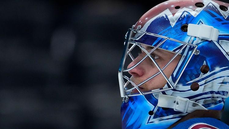 Avs sign goaltender Jonas Johansson to 1-year contract