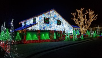 Map: Where to find the best Christmas lights in Denver and Colorado