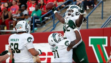Late interception key in Colorado State's 41-31 win