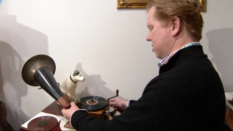 Storytellers: The phonograph collector plays history