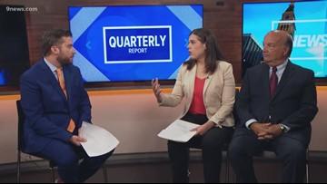 Colorado's Secretary of State discusses latest quarterly report