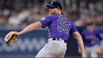 Rockies lose pitcher Jon Gray for season with foot fracture