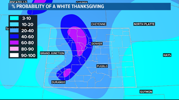 Will Denver have a White Thanksgiving?