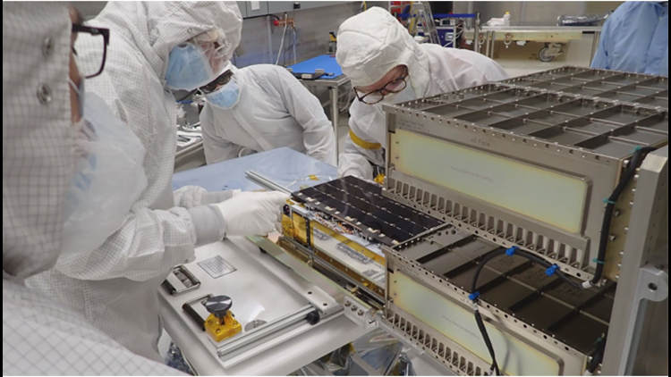 CU Boulder lab designs small satellite that launched into space under NASA-funded mission