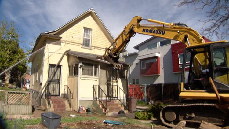 The inevitable demolition of 'The Hero House'