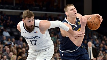 Grizzlies beat Nuggets for third straight win