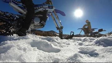 Motorized snow bikes revving up winter sports