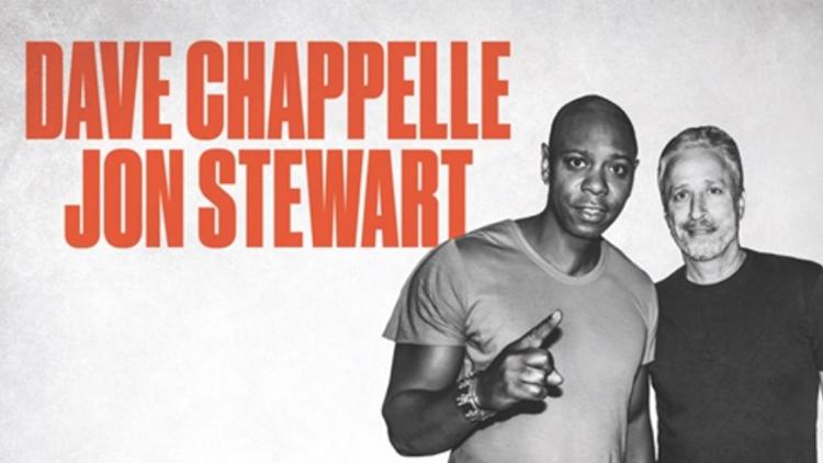 Comedy juggernauts Dave Chappelle and Jon Stewart