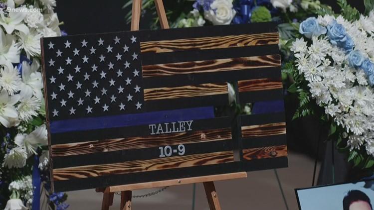 Full memorial service for Boulder Officer Eric Talley