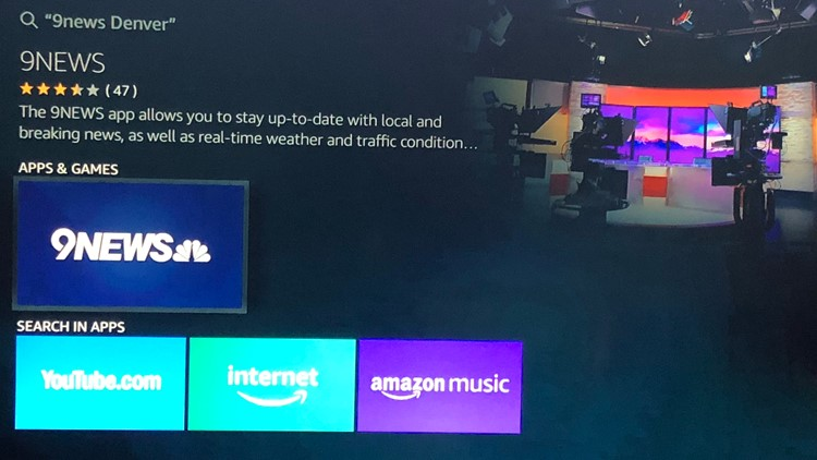 fire tv 9news search another crop attempt