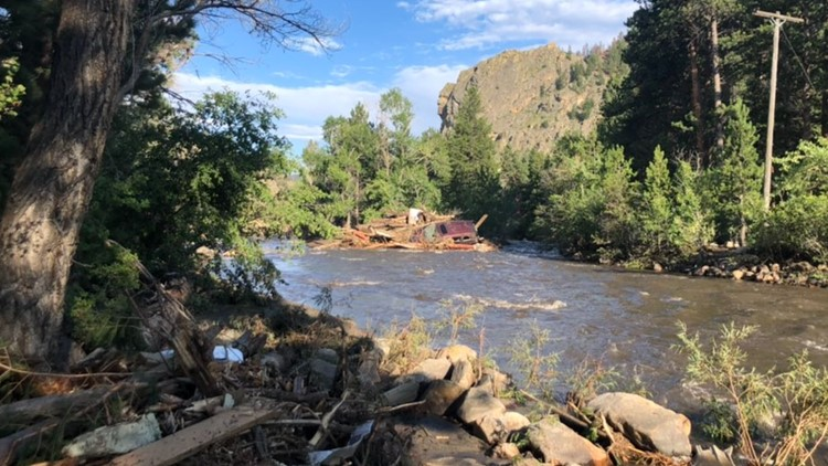 3 adults still missing, days after Poudre Canyon flooding