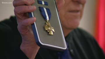 After 70 years, two local veterans receive their medals