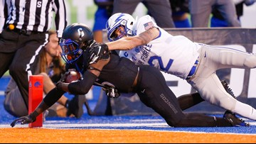 Big second half leads No. 20 Boise State past Air Force 30-19