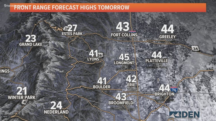 Sun emerges as Colorado digs out on Thursday