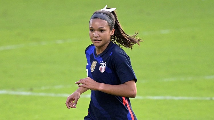 Colorado's Sophia Smith eyes spot on U.S. women's soccer Olympic roster