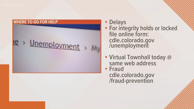 Unemployment in Colorado: CDLE hosting virtual town hall