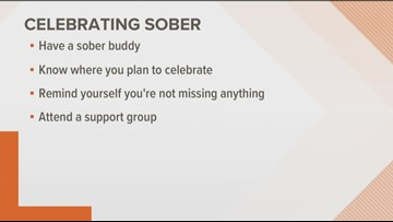 Tips on how to celebrate the new year while sober