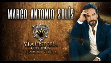 Latin music star Marco Antonio Solís announces Pepsi Center concert