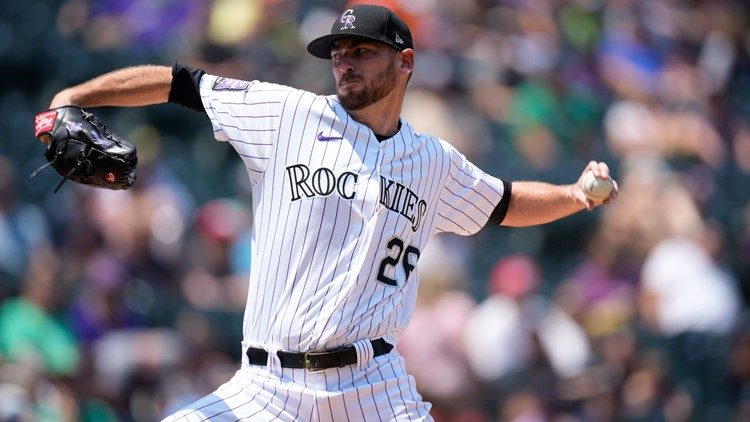 Gomber back from injured list, pitches Rockies past Mariners