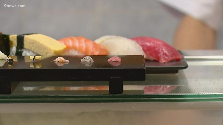 Tokyo restaurant serves up micro sushi