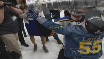 11-year-old St. Louis Blues superfan battling life threatening autoimmune disease celebrates with Stanley Cup