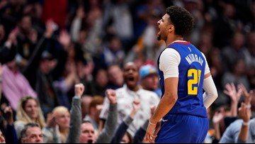 Jamal Murray helps Nuggets hang on to beat Suns in OT