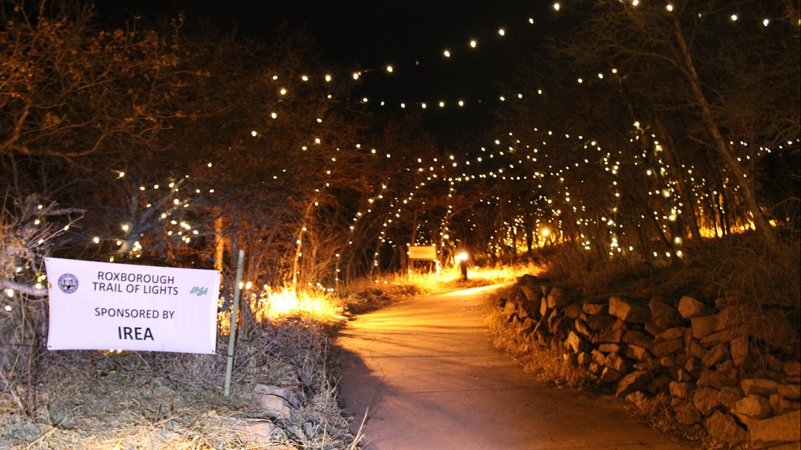 Roxborough State Park's Trail of Lights to open Friday