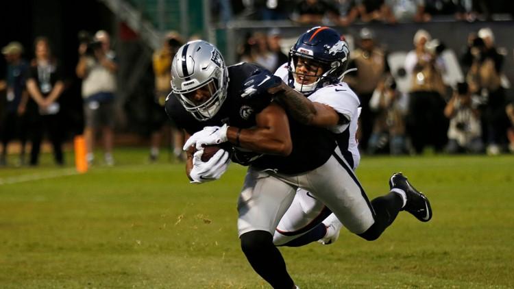 Broncos Raiders Football