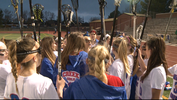 Cherry Creek girls lacrosse tops Chaparral