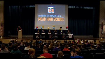 Six Mead student-athletes sign National Letters of Intent