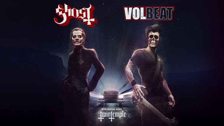 Ghost, Volbeat announce Ball Arena concert