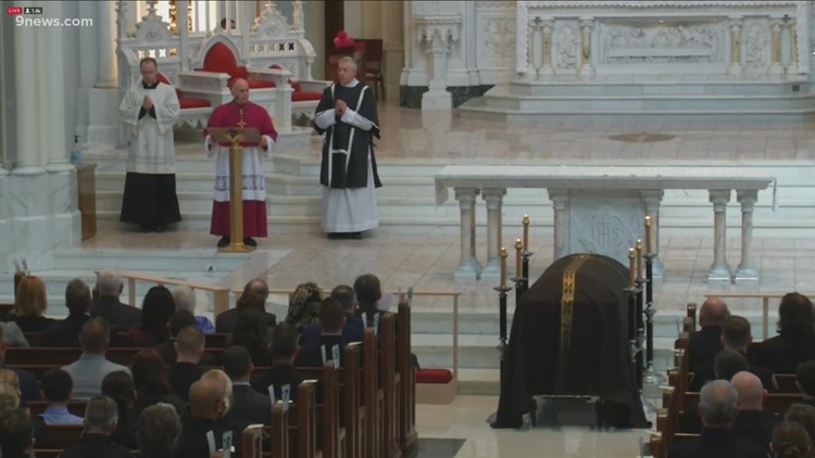 WATCH: Catholic funeral Mass held for Boulder Officer Eric Talley
