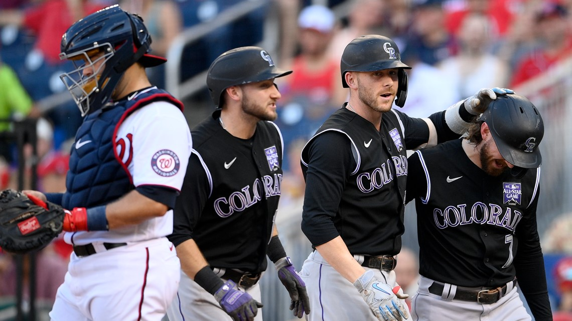Rockies easily handle Nationals to keep rolling on road trip