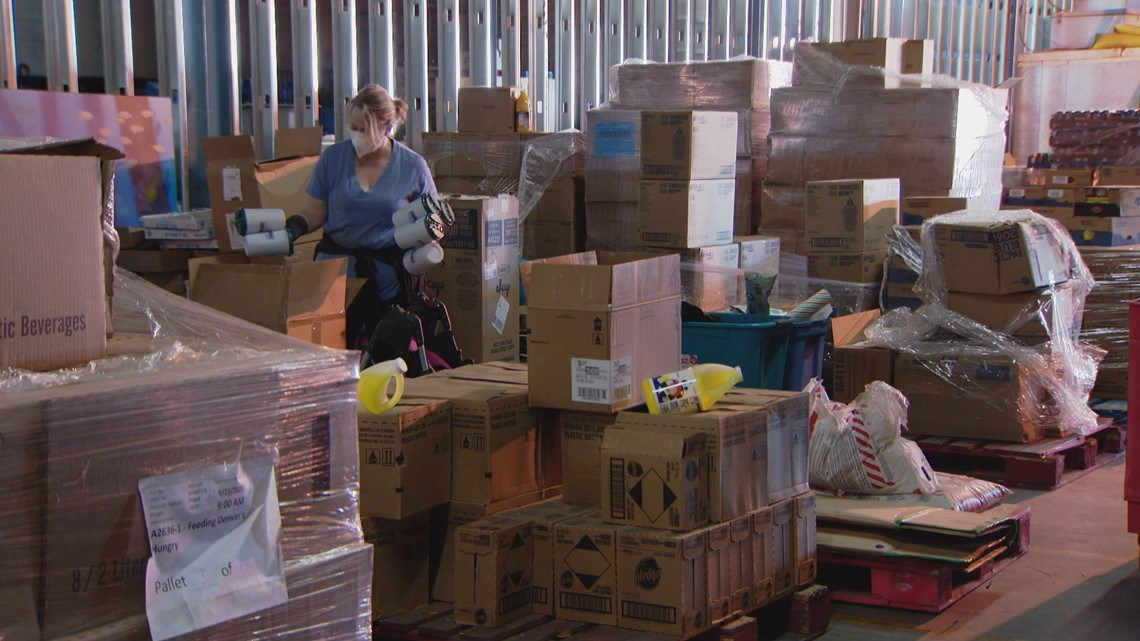 Nonprofit scrambles to find new warehouse space