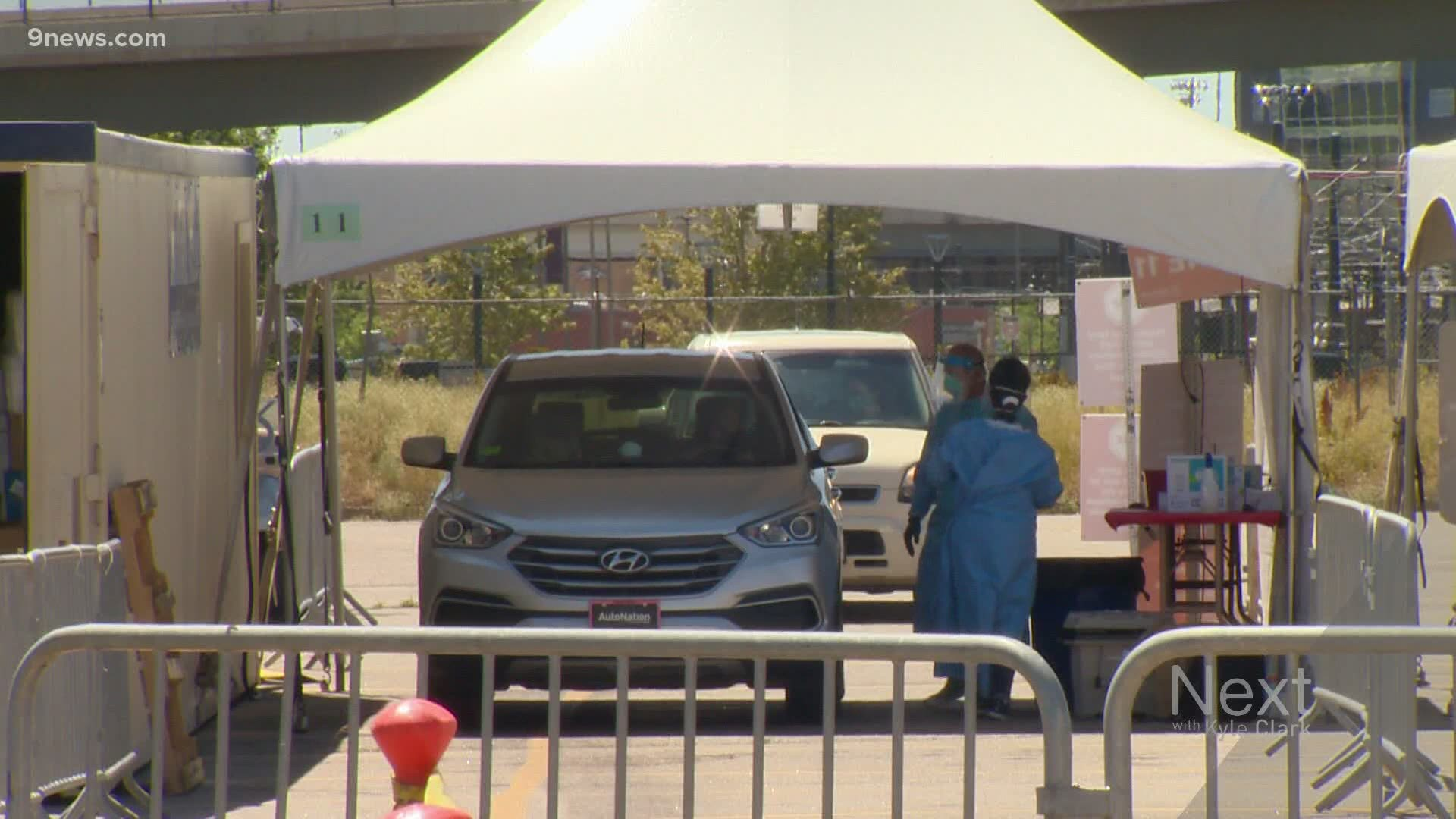 The Price Tag For Denver S Free Covid Testing Site At The Pepsi Center 9news Com