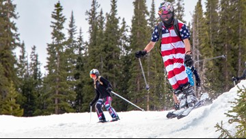 Arapahoe Basin was open for skiing on the 4th of July