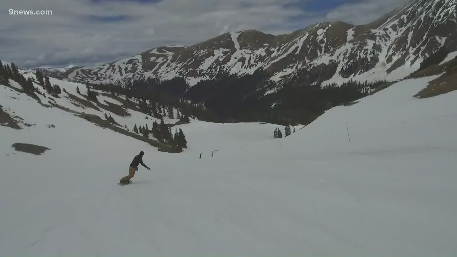 A Basin Ski Resort Reopens In Colorado With Random Drawing System 9news Com