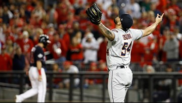 Astros cut World Series deficit to 2-1