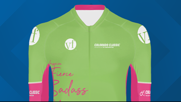 Colorado Classic racers will compete for these jerseys in August