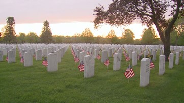 Veterans Day service at Fort Logan cemetery canceled