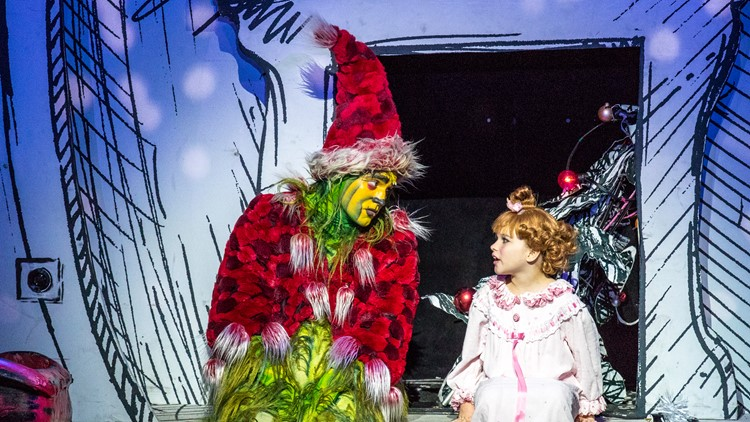 Philip Huffman as The Grinch in the Touring Company of Dr. Seuss' HOW THE GRINCH STOLE CHRISTMAS! The Musical.jpg
