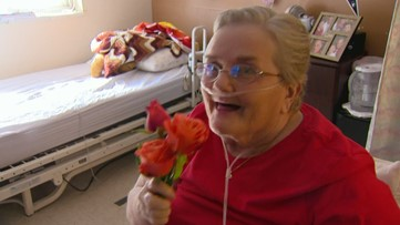 Flowers for seniors: Local group spreads love for Valentine's Day