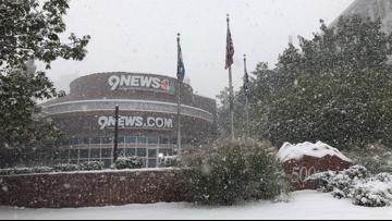 PHOTOS | October snow falls in Colorado