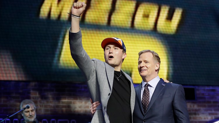 NFL Draft Football Drew Lock May 6 2019