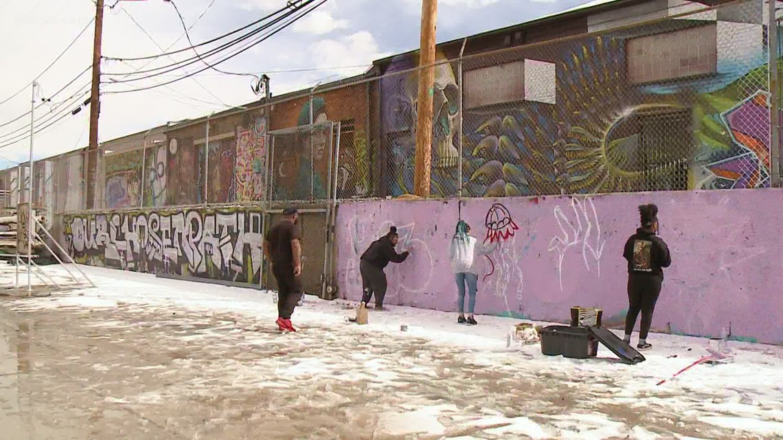 RiNo neighborhood showcases murals by local Black artists