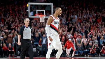 Blazers go up 2-1 after 140-137 win in 4 OTs over Denver